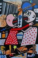 Detlev-Eilhardt-1-Menschen-Paare-Gesellschaft-Moderne-Pop-Art