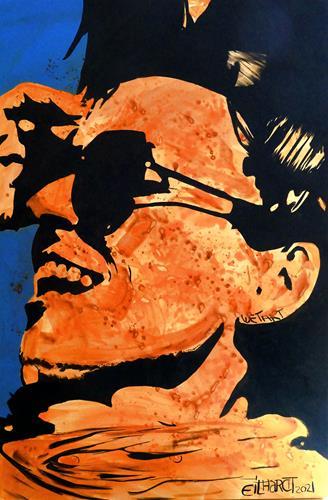 Detlev Eilhardt, fan, Menschen: Gesichter, Gefühle: Freude, Pop-Art
