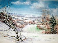 Konrad-Zimmerli-Landschaft-Winter-Natur-Wald