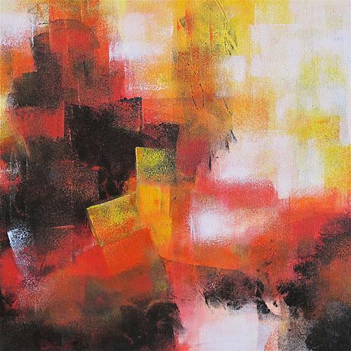 Konrad Zimmerli, ohne Titel I, Abstraktes, Dekoratives, Abstrakte Kunst
