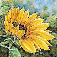 Konrad-Zimmerli-Pflanzen-Blumen-Dekoratives-Moderne-Abstrakte-Kunst