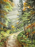 Konrad-Zimmerli-Landschaft-Herbst-Natur-Wald