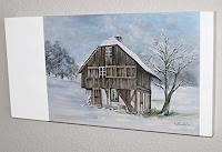 Konrad-Zimmerli-Bauten-Haus-Landschaft-Winter-Moderne-Abstrakte-Kunst
