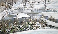 Konrad-Zimmerli-Natur-Wasser-Natur-Wald-Moderne-Abstrakte-Kunst