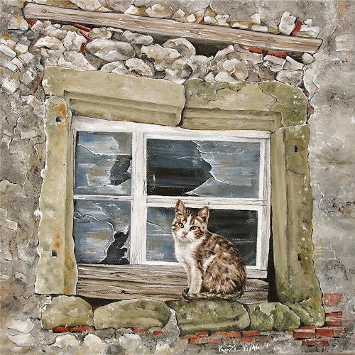 Konrad Zimmerli, Fensterplatz, Tiere, Diverses, Abstrakte Kunst