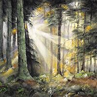 Konrad-Zimmerli-Landschaft-Natur-Wald-Moderne-Abstrakte-Kunst