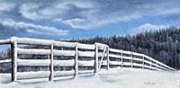 Konrad-Zimmerli-Landschaft-Winter-Natur-Diverse-Moderne-Naturalismus