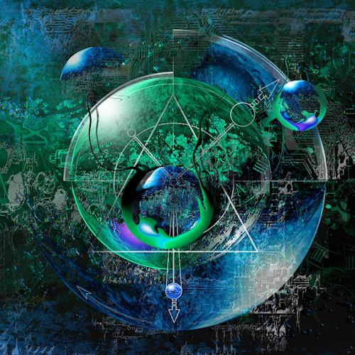 Franziskus Pfleghart, green mess, Abstraktes, Abstrakte Kunst, Expressionismus