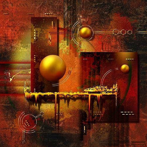 Franziskus Pfleghart, Beauty of the Illusion, Abstraktes, Abstraktes, Abstrakte Kunst, Expressionismus
