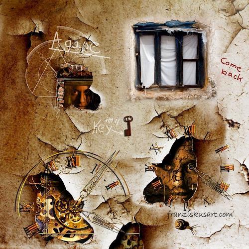 Franziskus Pfleghart, Verlorene Erinnerungen hinter meinem sehnsüchtigem Fenster, Fantasie, Mythologie, Postsurrealismus