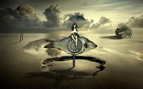 Franziskus Pfleghart, MY DEAR FISH, Gefühle: Geborgenheit, Fantasie, Konzeptkunst, Abstrakter Expressionismus