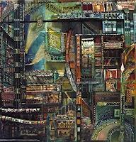 A. Münter, damage - city