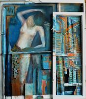 Anja-Muenter-Architektur-Menschen-Frau-Gegenwartskunst--Gegenwartskunst-
