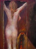 Anja-Muenter-Akt-Erotik-Akt-Frau-Fantasie-Gegenwartskunst--Gegenwartskunst-