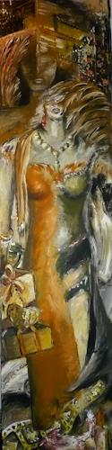 Anja Münter, flügel-figur, Situationen, Menschen: Frau, Gegenwartskunst