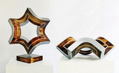 Nikolaus Weiler, Raumfalter, Abstraktes, Bewegung, Abstrakte Kunst
