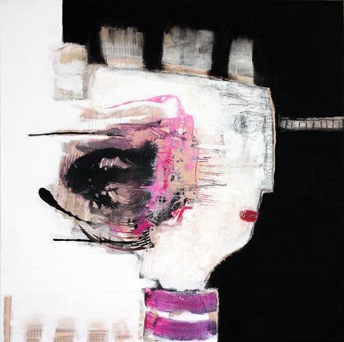 Christa Hartmann, Lady, Abstraktes, Fantasie, Moderne, Abstrakter Expressionismus
