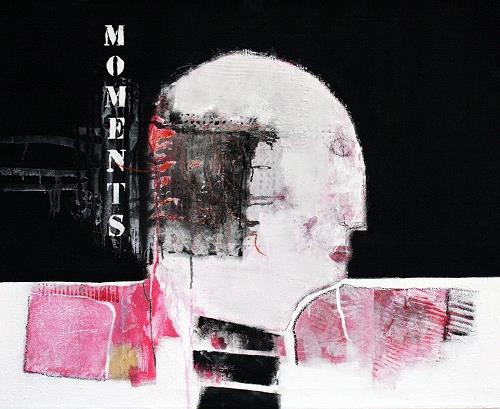 Christa Hartmann, Moments, Abstraktes, Fantasie, Moderne, Abstrakter Expressionismus