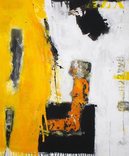 Christa Hartmann, Die Ahnung vom Ganzen, Abstraktes, Fantasie, Moderne, Abstrakter Expressionismus