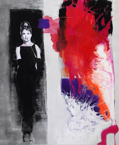 Christa Hartmann, O/T, Abstraktes, Fantasie, Moderne, Abstrakter Expressionismus