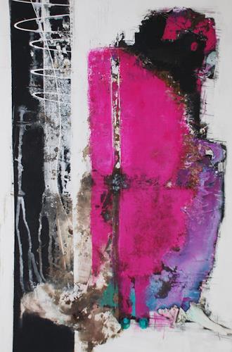 Christa Hartmann,  Schatten des Vergangenem , Abstraktes, Fantasie, Expressionismus