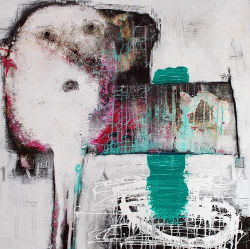 Christa Hartmann,  Zum Schauen bestellt , Abstraktes, Fantasie, Abstrakter Expressionismus