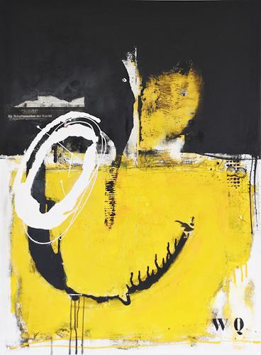 Christa Hartmann,  Schatten der Macht , Abstraktes, Fantasie, Expressionismus, Abstrakter Expressionismus