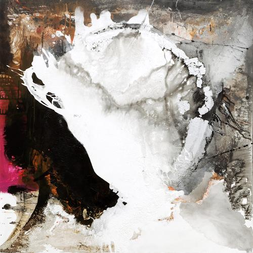 Christa Hartmann, Die Schöpfung, Fantasie, Gefühle, Expressionismus, Abstrakter Expressionismus