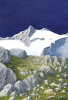Berchtold-Landschaft-Berge-Moderne-Naturalismus
