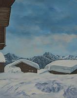 Berchtold-Landschaft-Landschaft-Moderne-Naturalismus