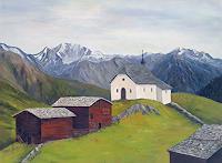 Berchtold-Landschaft-Berge-Landschaft-Berge-Moderne-Konkrete-Kunst