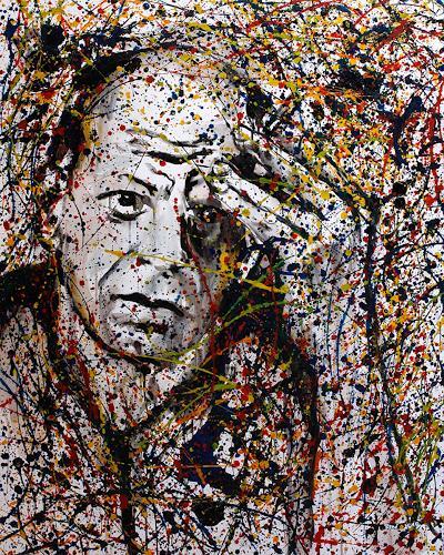 rené, jackson pollock, Menschen: Porträt, Moderne, Abstrakter Expressionismus