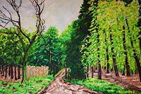Maria-Osning-Natur-Wald-Landschaft-Fruehling-Moderne-Expressionismus