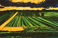 Maria-Osning-Landschaft-Ebene-Moderne-Expressionismus