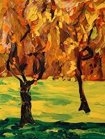 Maria-Osning-Landschaft-Herbst-Natur-Diverse-Moderne-Expressionismus