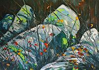 Maria-Osning-Landschaft-Herbst-Natur-Erde-Moderne-Expressionismus