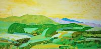 Maria-Osning-Landschaft-Huegel-Landschaft-Sommer-Moderne-Expressionismus-Neo-Expressionismus