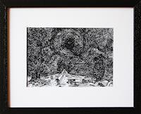 Maria-Osning-Landschaft-Landschaft-Ebene-Moderne-Expressionismus