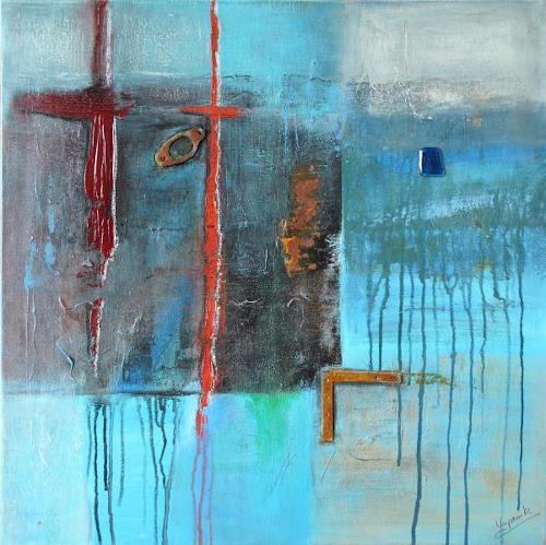 Barbara Vapenik, Daydream, Abstraktes, Gegenwartskunst, Expressionismus