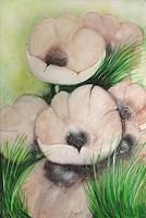 Barbara-Vapenik-Pflanzen-Blumen-Gegenwartskunst--Gegenwartskunst-
