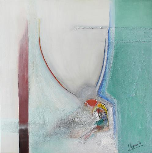 Barbara Vapenik, Abstrakt, Abstraktes, Dekoratives, Gegenwartskunst, Abstrakter Expressionismus