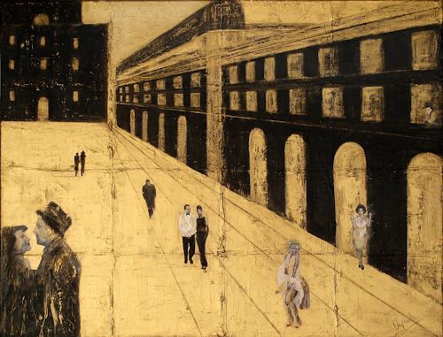 Barbara Vapenik, Boulevard der Stars, Diverse Bauten, Architektur, Gegenwartskunst, Abstrakter Expressionismus