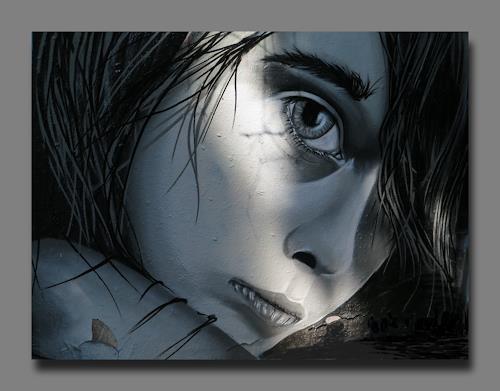 Arie Wubben, Jacqueline, Menschen: Frau, Gefühle, New Image Painting, Expressionismus