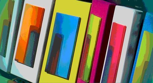 Arie Wubben, Quadro Mexico, Abstraktes, Dekoratives, Art Déco