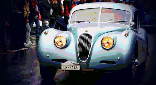 Arie Wubben, Jaguar, Geschichte, Verkehr: Auto, New Image Painting