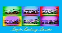 Arie-Wubben-1-Dekoratives-Verkehr-Flugzeug-Moderne-Pop-Art