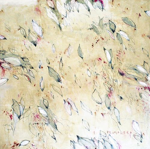 nanne hagendorff, Primavera, Abstraktes, Expressionismus