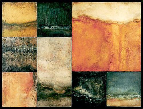 nanne hagendorff, Bits of landscapes, Abstraktes, Expressionismus