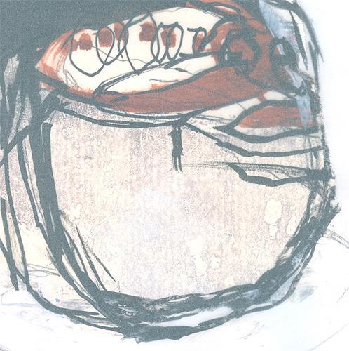 nanne hagendorff, Teepott, Abstraktes, Abstrakter Expressionismus