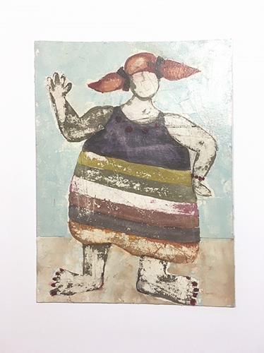 nanne hagendorff, Aber irgendwann passte Pipi nicht mehr in ihren Langstrumpf, Menschen, Abstrakte Kunst